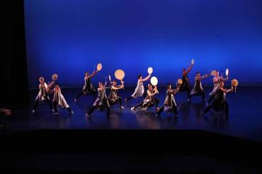 """Midnight Moon"" at Taiko Drum and Dance, Kennedy Theatre, Honolulu 2013"