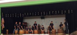 Taiko Tots performs at TCP Bonenkai 2014