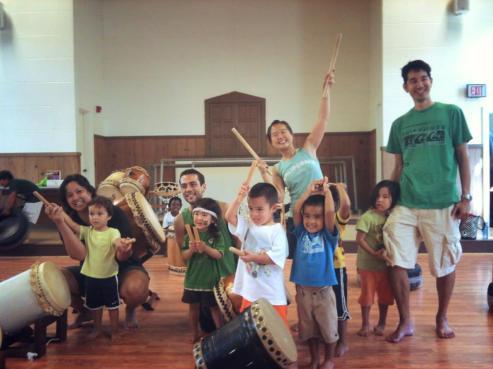 Taiko Tots 2013 Honolulu