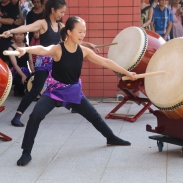 "performing ""Omiyage"" - photo by KK Mui"