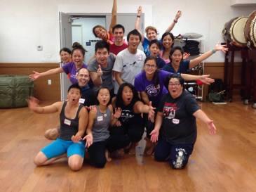 TaikOrff Summer 2016 Day 1 (Asano Taiko U.S., LA)