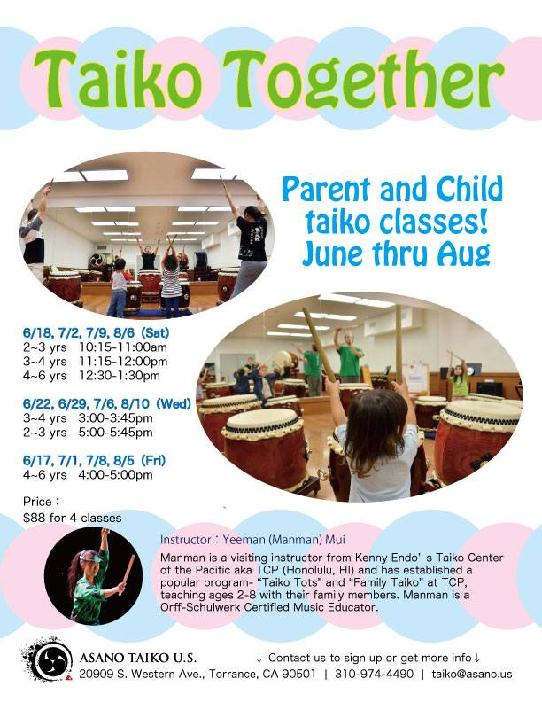 Taiko Together 2016 Flyer