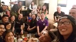 Instructors post workshops hangout!